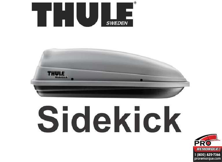 682 COFFRE DE TOIT THULE, SIDEKICK						 													 							Temps d'installation approx. :  0.25 HH.mm