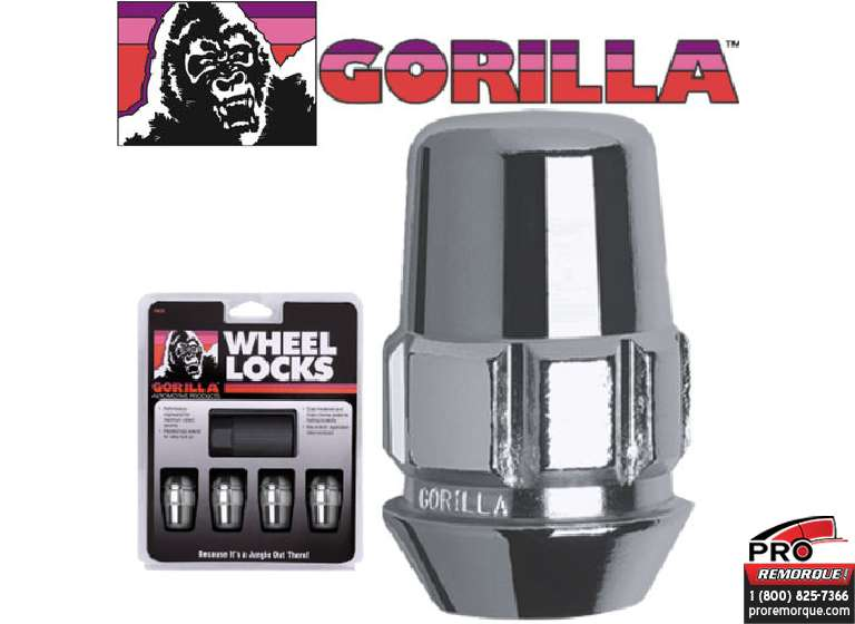 71621N GORILLA ANTIVOL 12 MM X 1.25