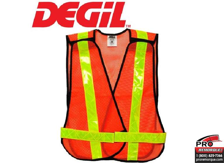 7815300 GILET XL SIGNALISATION ORANGE