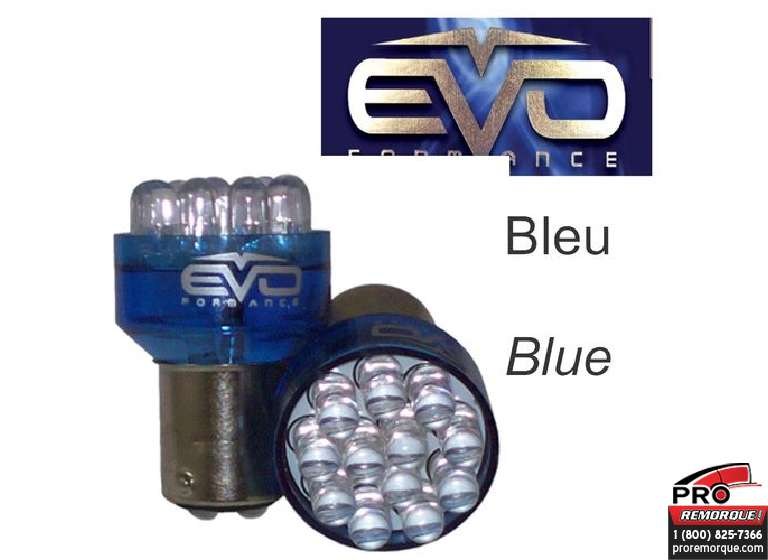 93233 LUMIERE LED 1157 BLEU
