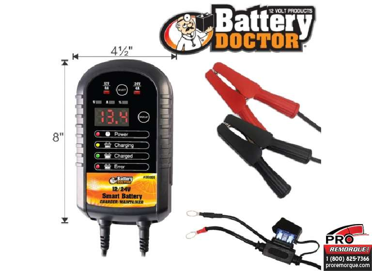 B20068 CHARGEUR INTE.8-4AMP 12/24V