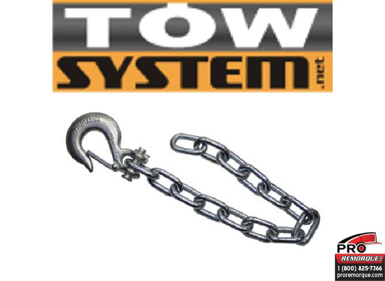 IMPORT/TOWSYSTEM BSC3835 CHAINE SECURITE,15 000 LBS,35""