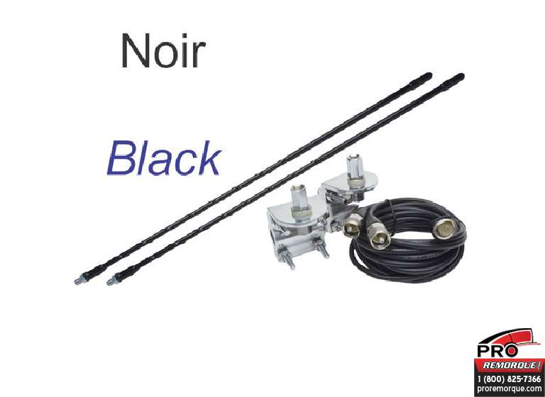 EAGLE4B ANTENNES TWIN 4PI NOIR KIT