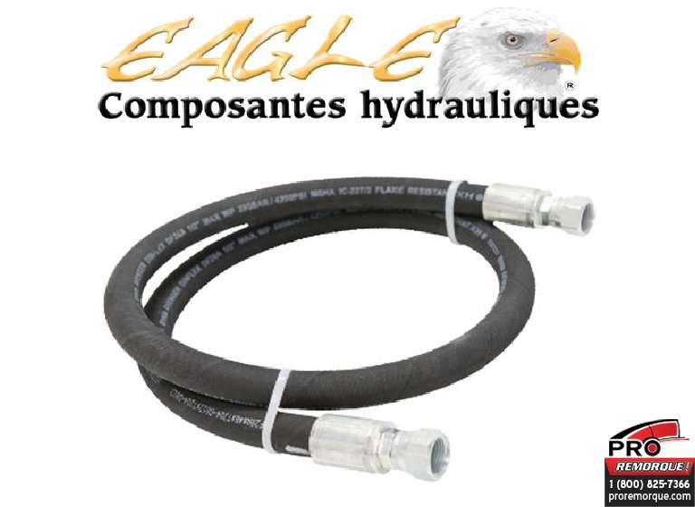 "EP1706-17 BOYAU HYDRAU,3/8"",17"" DE LONG INTERIEUR DU COFFRE"