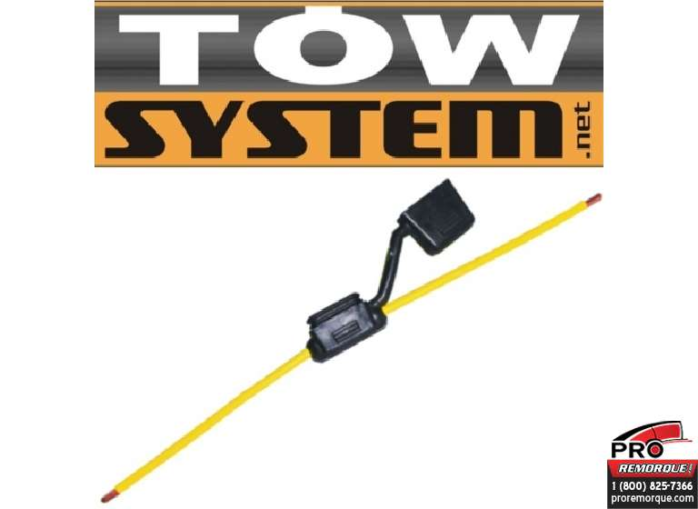 TOW SYSTEM HHF-12 PORTE FUSIBLE HEAVY DUTY PQT12