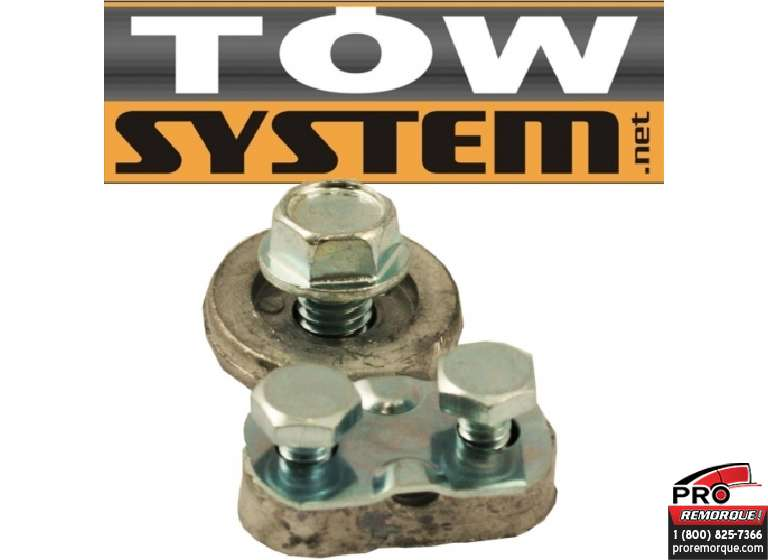 TOW SYSTEM JHC004-1 TERMINAL A BATTERIE COTE