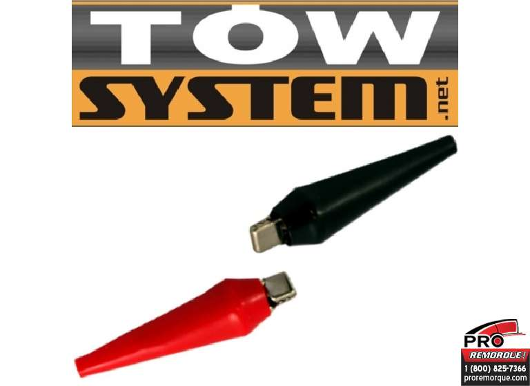 TOW SYSTEM JHC297H  PINCE A BATTERIE
