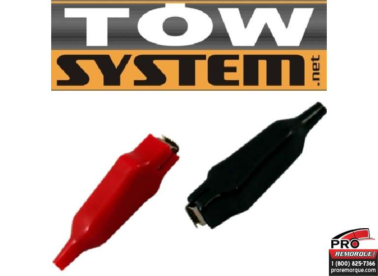 TOW SYSTEM JHC307H PINCE A BATTERIE