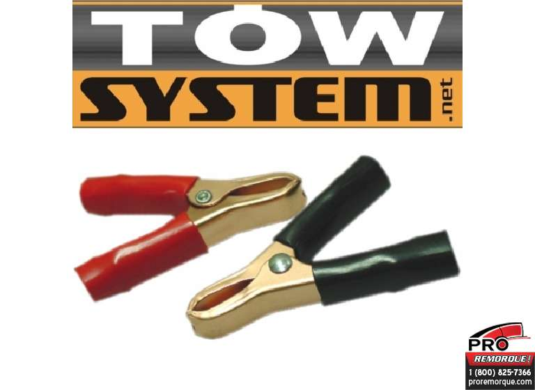 TOW SYSTEM JHC51015H PINCE POUR BATTERIE 15 AMP