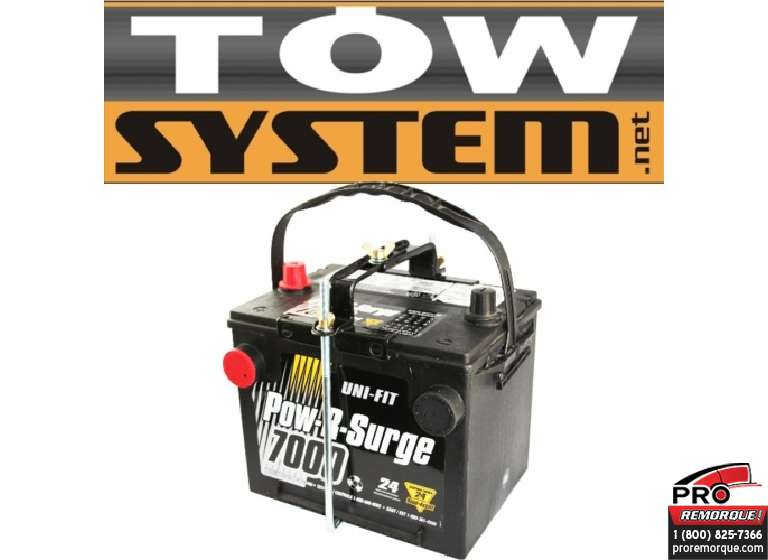 TOW SYSTEM JHC630CH SUPPORT DE BATTERIE AJUSTABLE