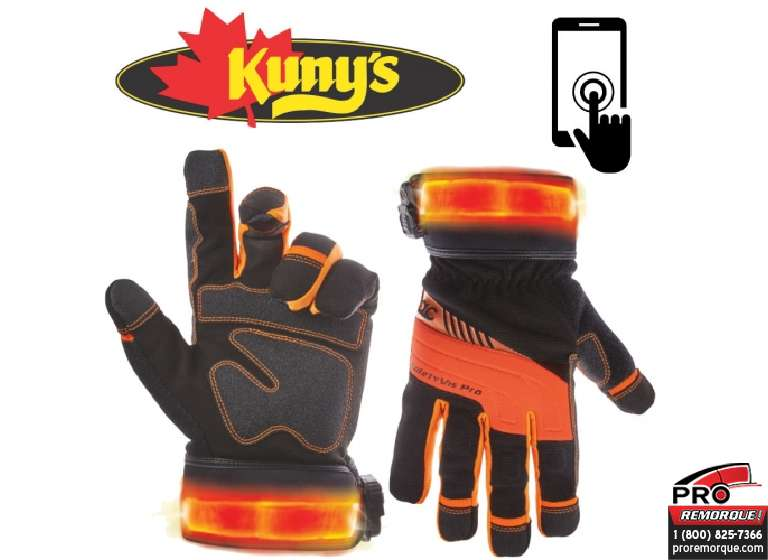 L145XL GANTS SAFETY VIZ LED T-GRAND