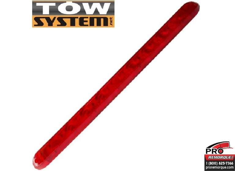 "TOW SYSTEM LB009 LUMIERE LED 17 5/16"" ROUGE"
