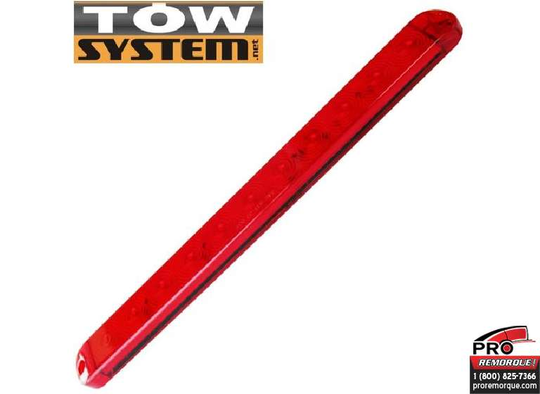 "TOW SYSTEM LB011 LUMIERE LED 15"" ROUGE"