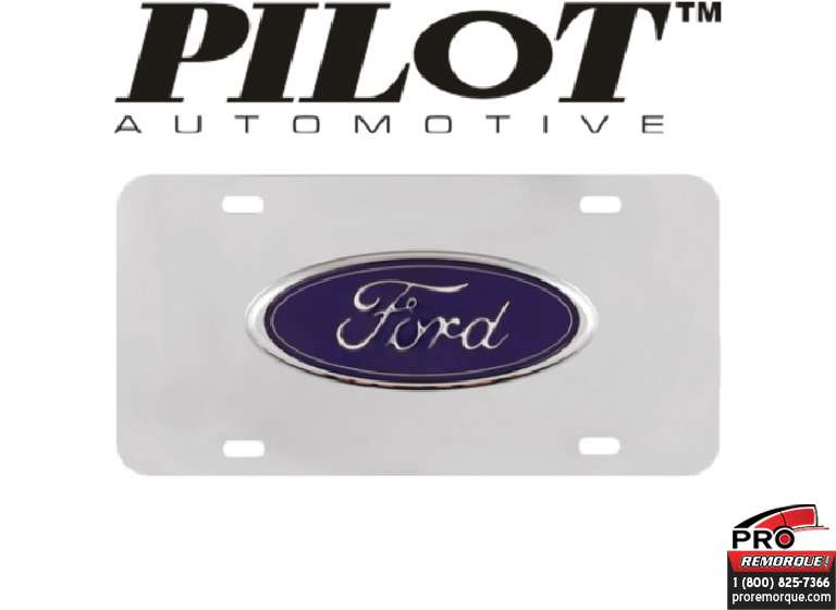 LP021 PLAQUE STAINLESS STEEL  FORD