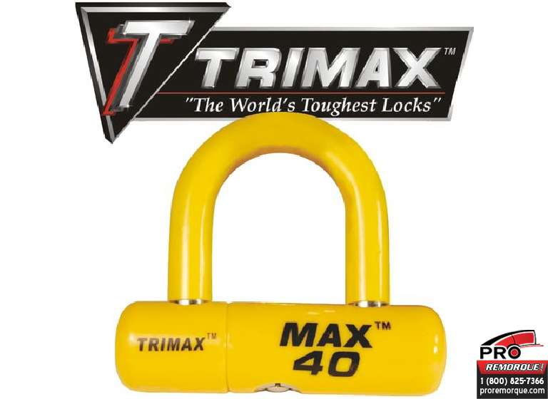 TRIMAX  MAX40LY TRIMAX, CADENAS POUR CABLE