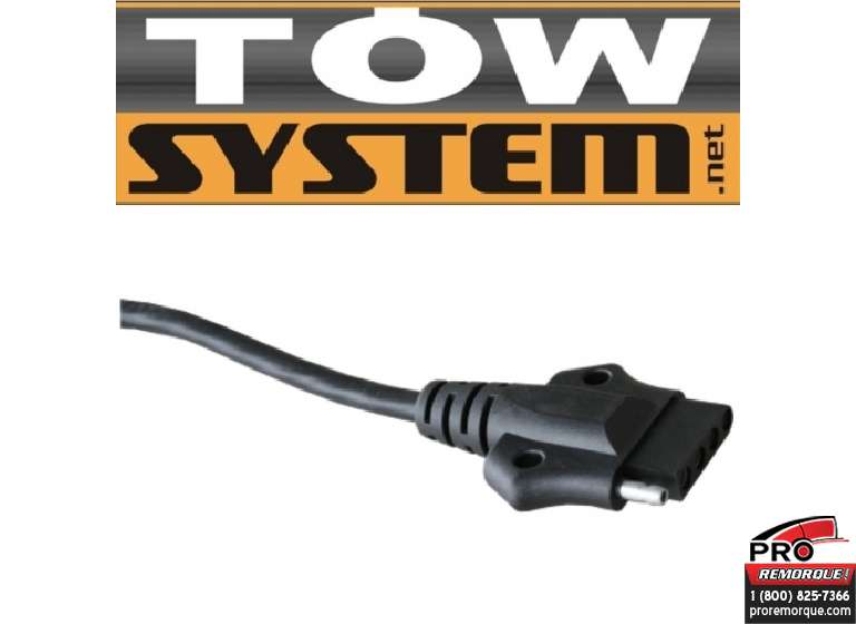 TOW SYSTEM MG016-12 PRISE 5 BRINS DELUXE, PQT.12
