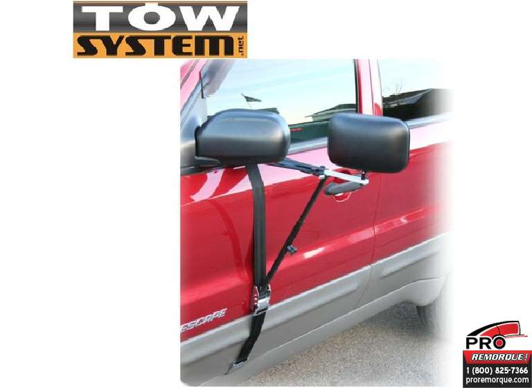 TOW SYSTEM MG11650 EXTENTION DELUXE MIROIR TOW S