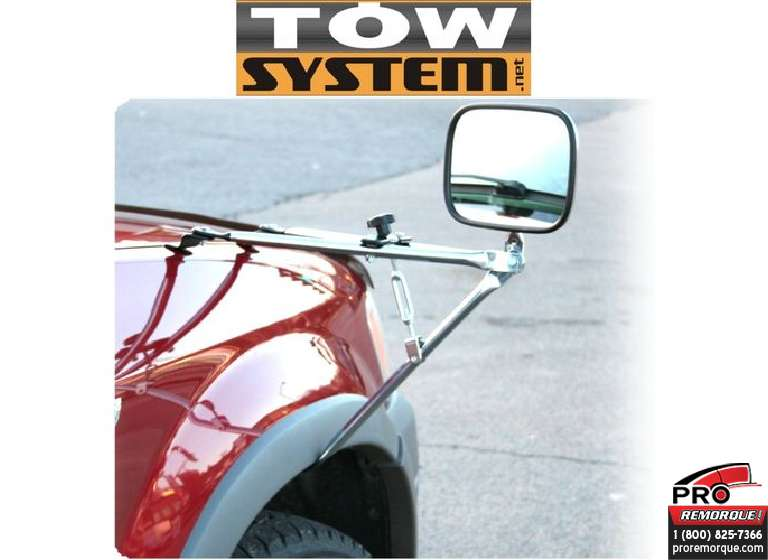 TOW SYSTEM MG11750 EXTENSION MIRROIR AILE