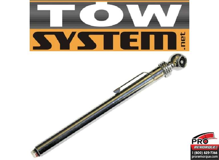 TOW SYSTEM MG3238 MANOMETRE CHROME 5 A 50 PSI