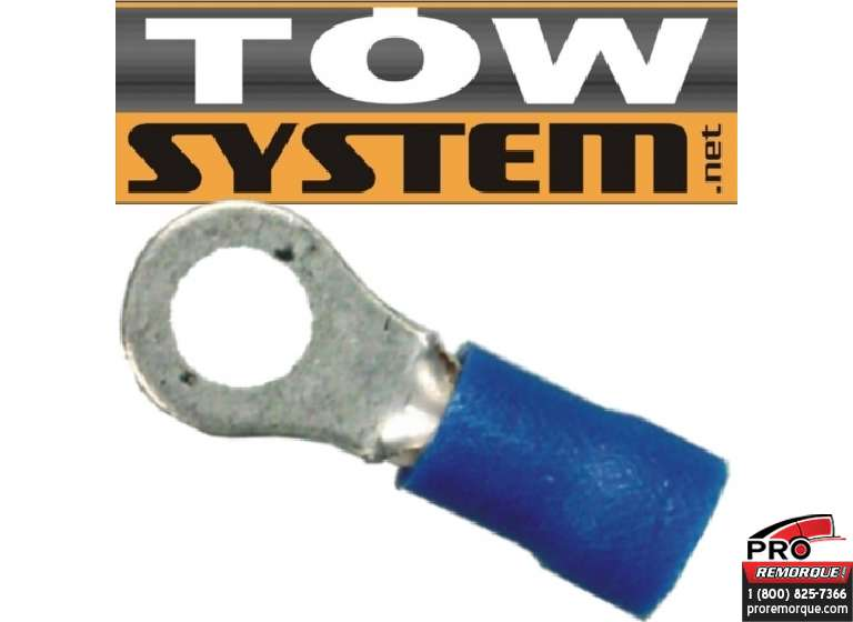 TOW SYSTEM MG401 TERMINAL ROUGE,22-16 GA,PQ 100