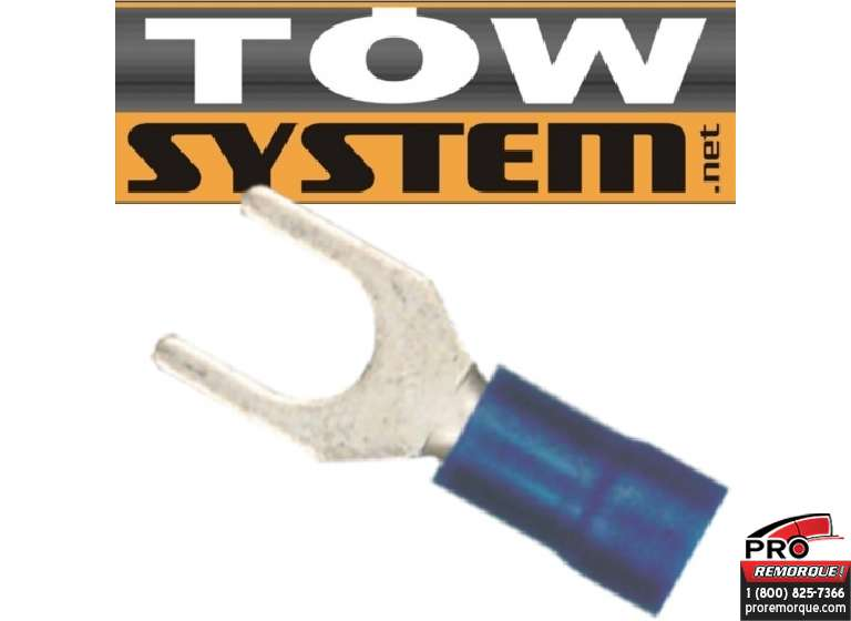 TOW SYSTEM MG411 TERMINAL ROUGE,22-16 GA,PQ 100