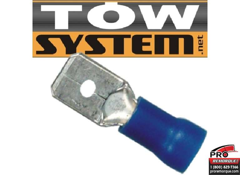 TOW SYSTEM MG417 TERMINAL ROUGE,22.16 GA,PQ 100