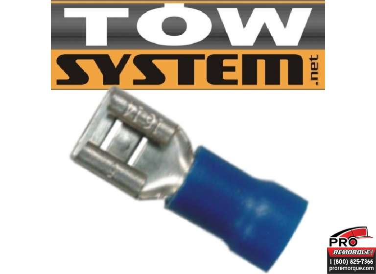 TOW SYSTEM MG420 TERMINAL ROUGE,22-16 GA,PQ 100