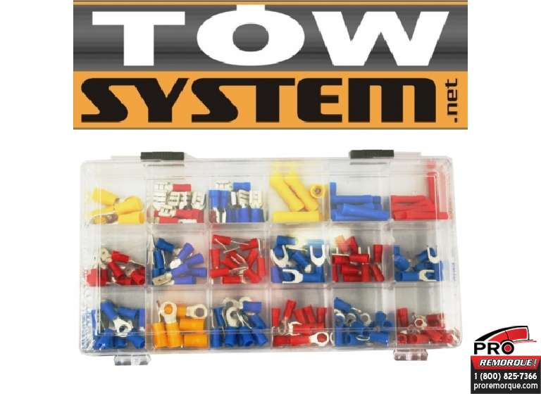 TOW SYSTEM MG441 KIT TERMINAL,18 SORTE,175 PCE