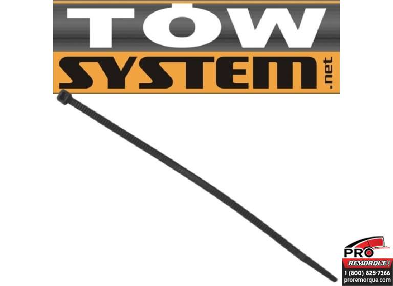 TOW SYSTEM MG504B ATTACHE NYLON NOIR , PQT 100