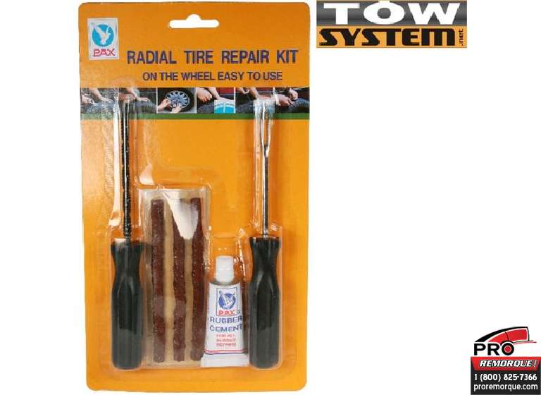 TOW SYSTEM MG6206 ENSEMBLE DE REPARATION PNEU