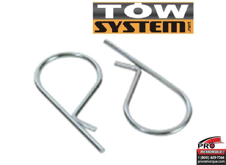 "TOW SYSTEM MGI10R ""R"" PIN POUR MGI10 (PAIRE)"