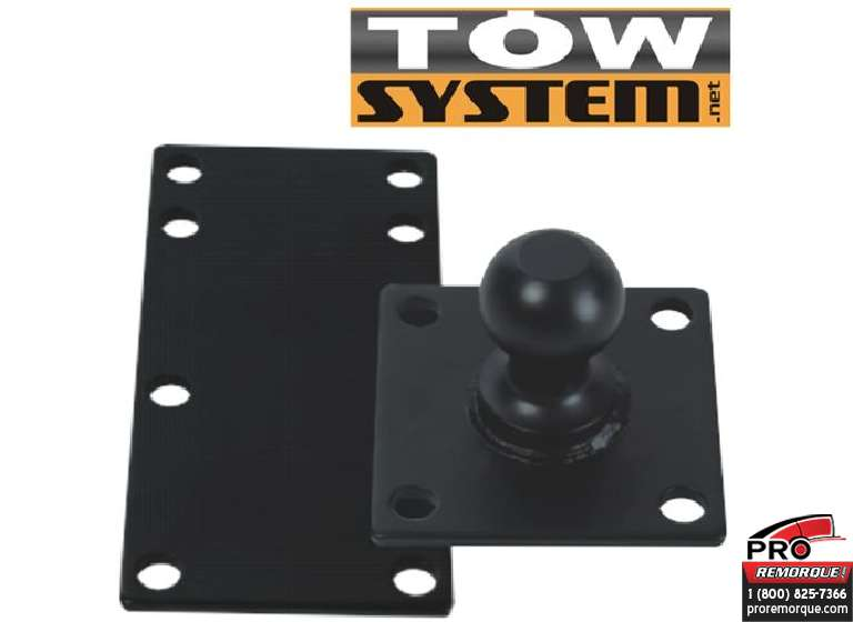 "TOW SYSTEM MGI12 BOULE 1"" POUR ANTI-SWAY/PLAQUE"
