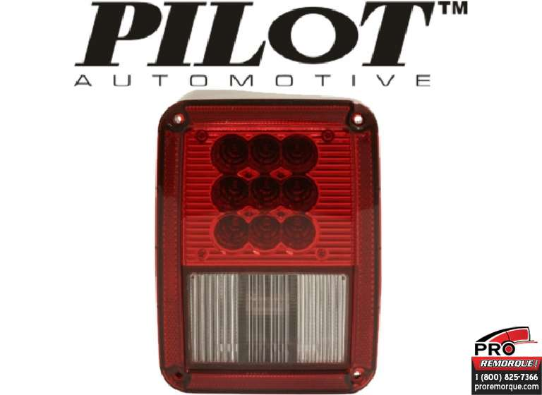 NV-002R TAIL LAMP LED,DROIT,WRANG07-17