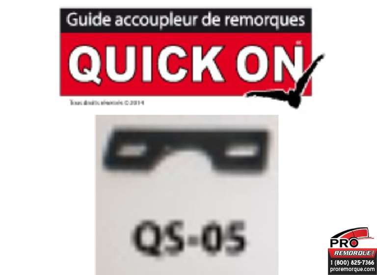 QS-05 PLAQUE ANTI-DECROCHAGE QUICK