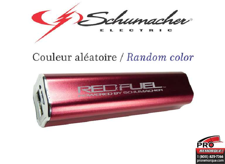SL3 RED-FUEL LITHIUM USB RE-CHARGE
