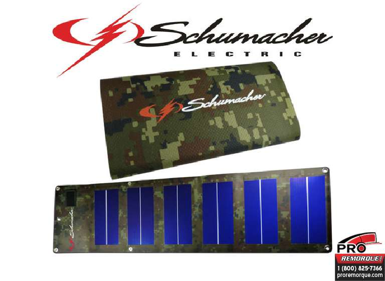 "SP-600 CHARGEUR SOLAIRE ""CAMOUFLAGE"""