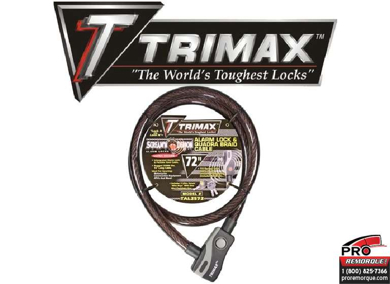 TRIMAX  TAL2572 TRIMAX,CADENAS A CABLE 72""