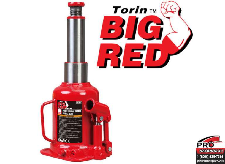 TH80802 CRIC HYDRAULIQUE HD BIG RED 8T
