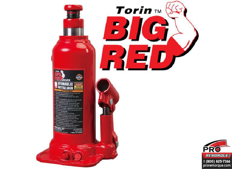 TH90604 CRIC BOUTEILLE BIG RED 6T