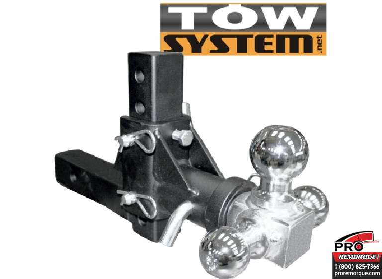 TOW SYSTEM TMBA1060R BLOC AJUSTABLE 3 BOULES