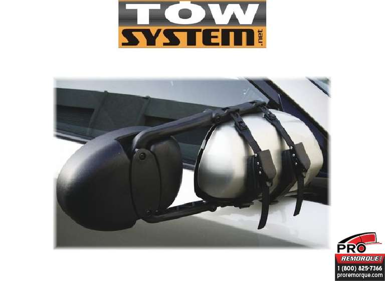 "TOW SYSTEM TS0083 EXTENSION MIROIR""RATCHET""TOW S"
