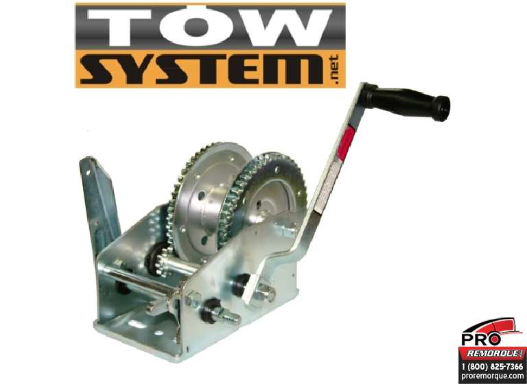 TOW SYSTEM TS03700 TREUIL ECONOMIQUE 3 700 LBS