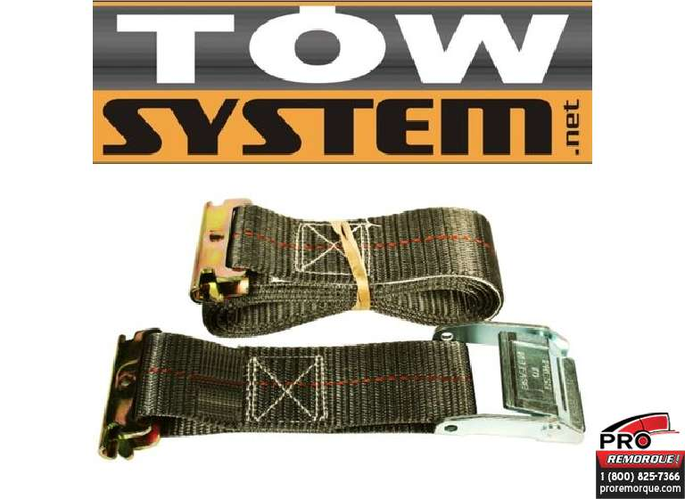 "TOW SYSTEM TS4001 SANGLE ""CAME"" AVEC BOUT EN ""E"""