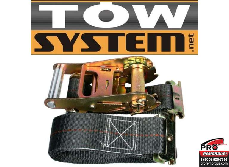 "TOW SYSTEM TS4002 COURROIE E-TRACK 2""X 16' 3500L"