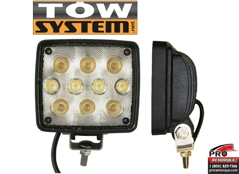 TOW SYSTEM W127-10LED LUM.PROJECT.10LED,827 CANDLE