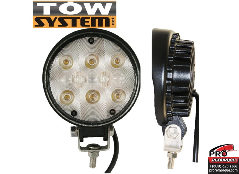 TOW SYSTEM W128LED LUM.PROJEC.ROND,8LED,840CANDLE