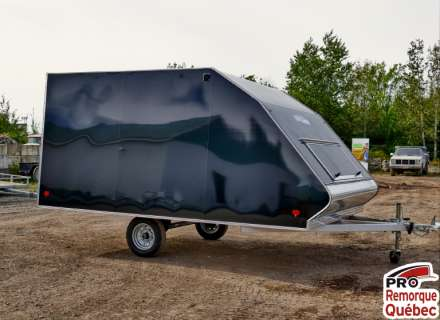 Mission Trailers Crossover Double Noir, Aluminium