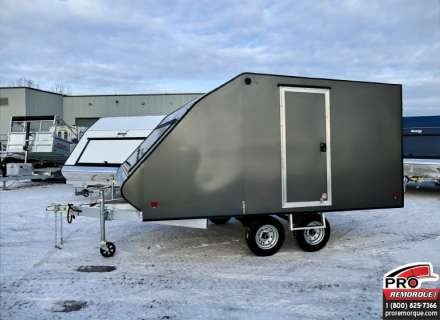 Mission Trailers Crossover Double Charcoal, Aluminium