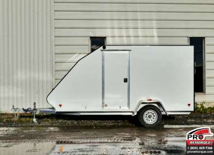Mission Trailers Crossover Simple Blanc, Aluminium