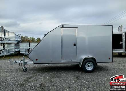 Mission Trailers Crossover Simple Silver, Aluminium